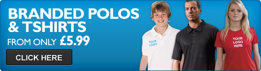 Corporate Wear Direct branded polos and t-shirts