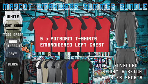 Mascot Workwear Summer Bundle