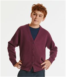 RUSSELL CHILDRENS SWEATSHIRT CARDIGAN