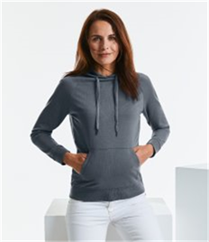 RUSSELL WOMENS HD HOODED SWEAT
