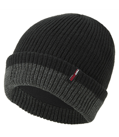 THINSULATE KNITTED TWO TONE BEANIE