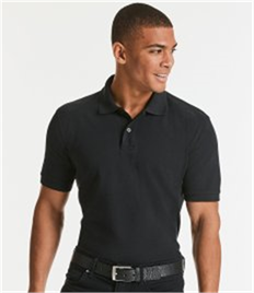 RUSSELL ADULT POLO 100% COTTON