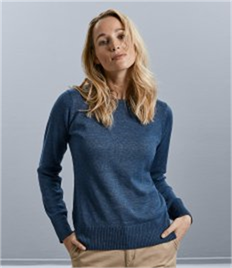 RUSSELL LADIES KNITTED PULLOVER