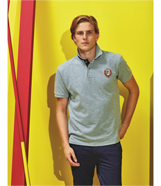 ASQUITH AND FOX MENS CLASSIC FIT CONTRAST POLO
