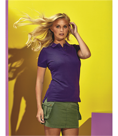 ASQUITH AND FOX LADIES CLASSIC FIT COTTON POLO SHIRT