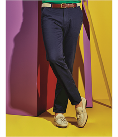 ASQUITH AND FOX MENS SLIM FIT COTTON CHINOS