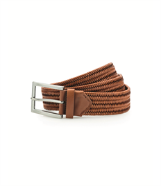 ASQUITH AND FOX LEATHER BRAID BELT
