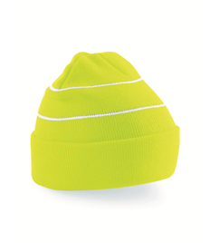 BEECHFIELD HIGH VIZ ACRYLIC KNITTED HAT