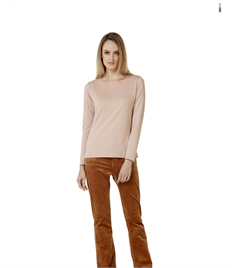 B&C LADIES E150 LONG SLEEVE T-SHIRT