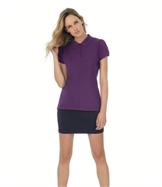 B & C LADIES HEAVYMILL POLO SHIRT
