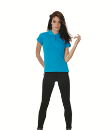 B & C LADIES SAFRAN PURE POLO SHIRT