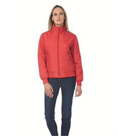 B&C LADIES CREW BOMBER BLOUSON MIDDLEWEIGHT JACKET