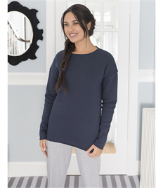 COMFY CO GALS OVERSIZED SWEAT
