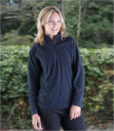 CRAGHOPPER LADIES BASECAMP FLEECE 1/2 ZIP