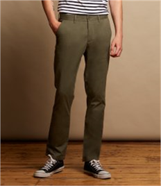 FRONT ROW MENS STRETCH CHINOS