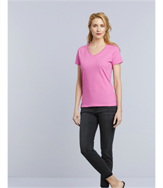 GILDAN PREMIUM COTTON LADIES V-NECK T-SHIRT