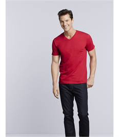 GILDAN MENS PREMIUM COTTON VNECK T
