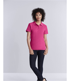 GILDAN LADIES SOFTSTYLE DOUBLE PIQUE POLO