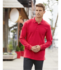 GILDAN PREMIUM COTTON ADULT L/S POLO