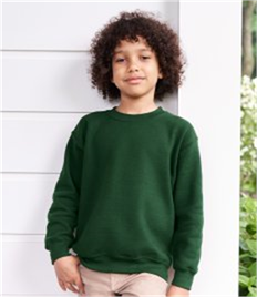 GILDAN HEAVY KIDS CREW NECK SWEAT