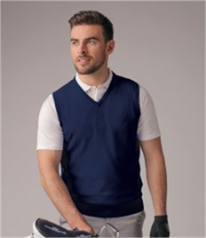 GLENMUIR g.THORNTON COTTON V-NECK SLIPOVER