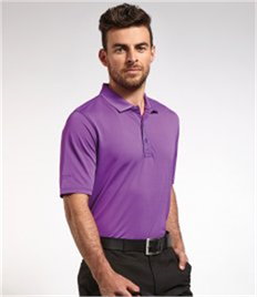 GLENMUIR g.DEACON PERFORMANCE PIQUE PLAIN POLO