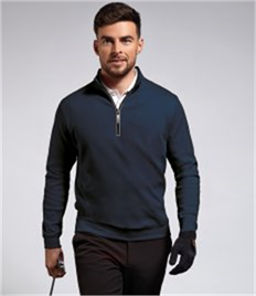 GLENMUIR g.ARTEMIS ZIP NECK FLEECE