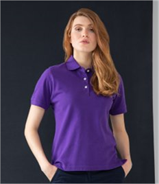 HENBURY LADIES COTTON POLO SHIRT