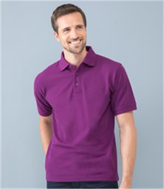 HENBURY POLY COTTON POLO