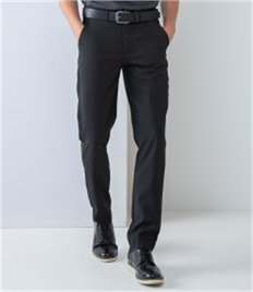 HENBURY MENS TAPERED LEG TROUSERS