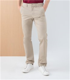 HENBURY MENS STRETCH CHINO