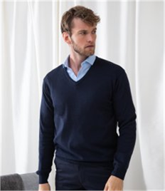HENBURY LIGHTWEIGHT V NECK JUMPER
