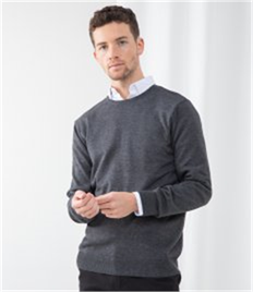HENBURY MENS CREW NECK JUMPER