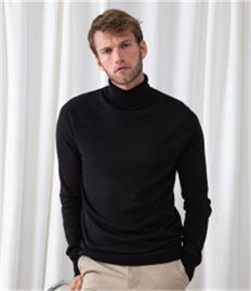 HENBURY MENS ROLL NECK JUMPER