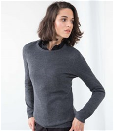 HENBURY LADIES CREW NECK JUMPER