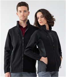 HENBURY UNISEX SOFTSHELL JACKET