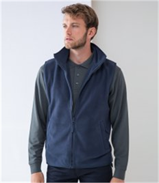 HENBURY SLEEVELESS MICROFLEECE JACKET