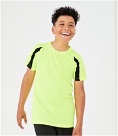 JUST COOL BY AWDIS KIDS CONTRAST COOL T