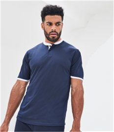 JUST COOL BY AWDIS COOL STAND COLLAR SPORTS POLO