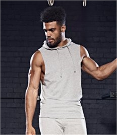 JUST COOL BY AWDIS URBAN SLEEVELESS MUSCLE HOODIE