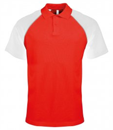 KARIBAN MENS POLO BASEBALL