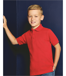 KUSTOM KIT KIDS POLYCOTTON POLO