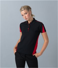 FINDEN & HALES LADIES CLUB POLO SHIRT