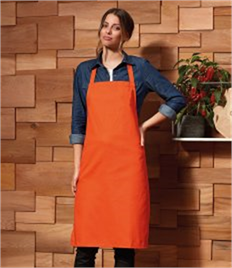 PREMIER NO POCKET APRON COTTON