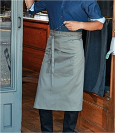 PREMIER COLOURS COLLECTION HOSPITALITY APRON WITH POCKET