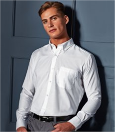 PREMIER WORKWEAR SIGNATURE MENS OXF L/S SHIRT