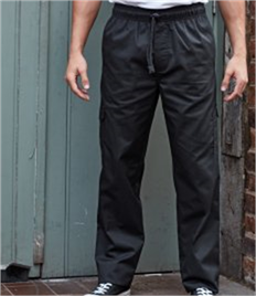 PREMIER CHEFS ESSENTIAL CARGO POCKET TROUSERS