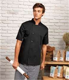 PREMIER SHORT SLEEVE CHEFS JACKET