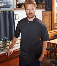 PREMIER ESSENTIAL SHORT SLEEVE CHEFS JACKET