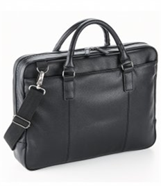 QUADRA BAGS NUHIDE SLIMLINE LAPTOP BRIEF